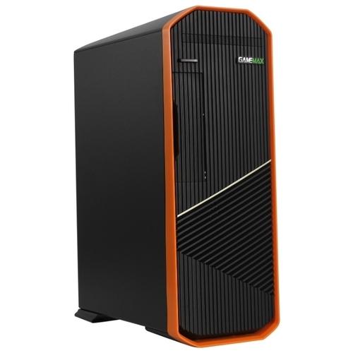 Компьютерный корпус GameMax S702-O 300W Black/orange