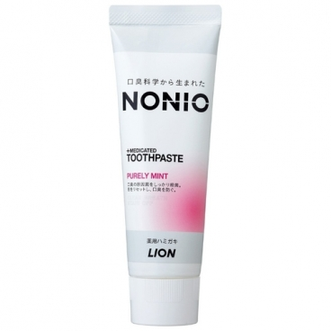 Зубная паста Lion NONIO+Medicated, мята