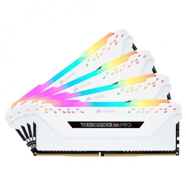 Оперативная память 16 ГБ 4 шт. Corsair CMW64GX4M4C3200C16W
