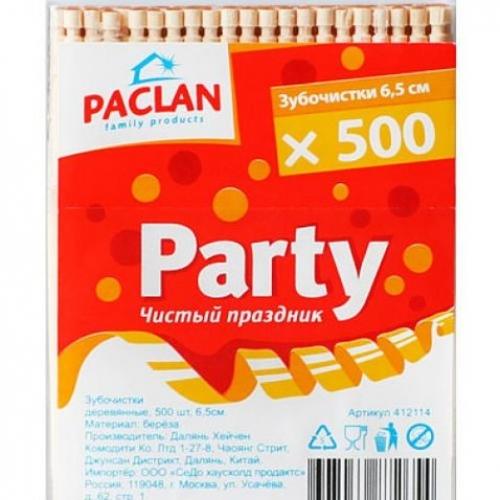 Зубочистки Paclan