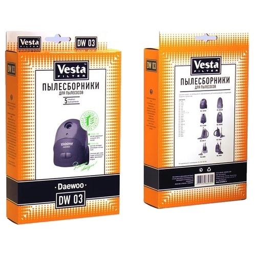 Vesta filter Бумажные пылесборники DW 03