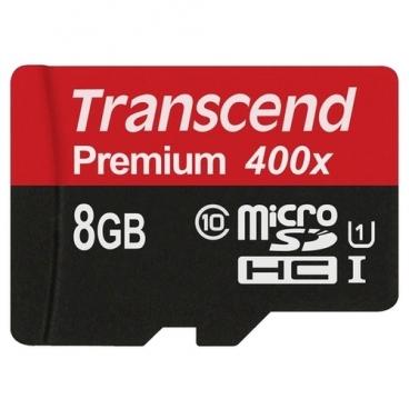 Карта памяти Transcend TS8GUSDU1 400x