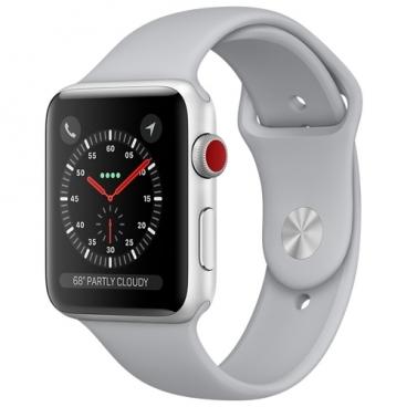 Часы Apple Watch Series 3 Cellular 38mm Aluminum Case with Sport Band