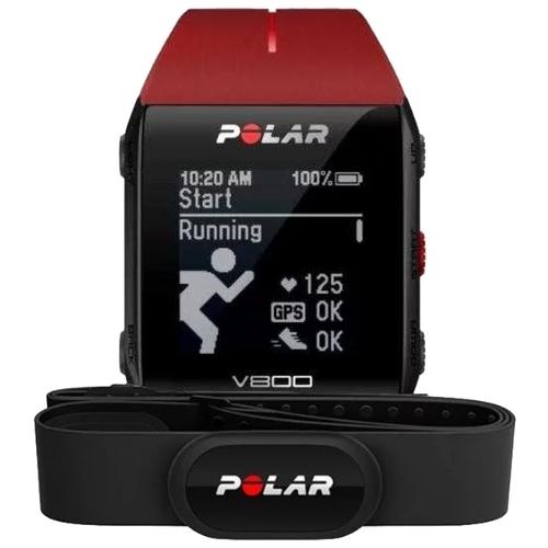 Часы Polar V800 с датчиком H10