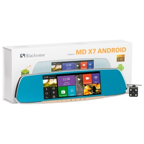 Видеорегистратор Blackview MD X7 Android, 2 камеры, GPS