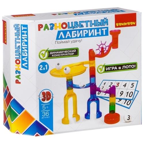 Динамический конструктор BONDIBON Разноцветный лабиринт ВВ2742