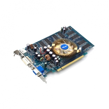 Видеокарта ASUS GeForce 6600 300Mhz PCI-E 256Mb 500Mhz 128 bit DVI TV