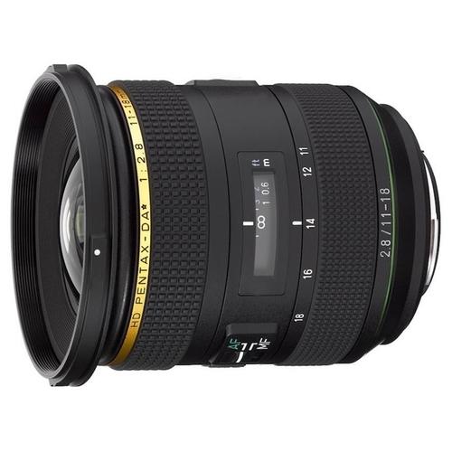 Объектив Pentax DA 11-18mm f/2.8 HD