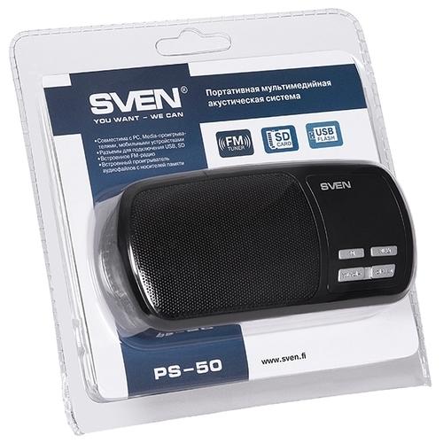 Портативная акустика SVEN PS-50