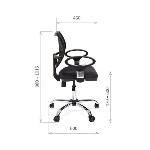 Компьютерное кресло Chairman 450 CHROME офисное
