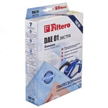 Filtero Мешки-пылесборники DAE 01 Экстра