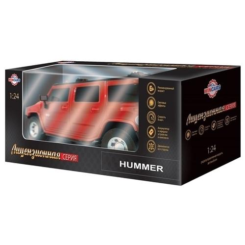 Внедорожник Wincars Hummer H2 SUV (DS-2016) 1:24