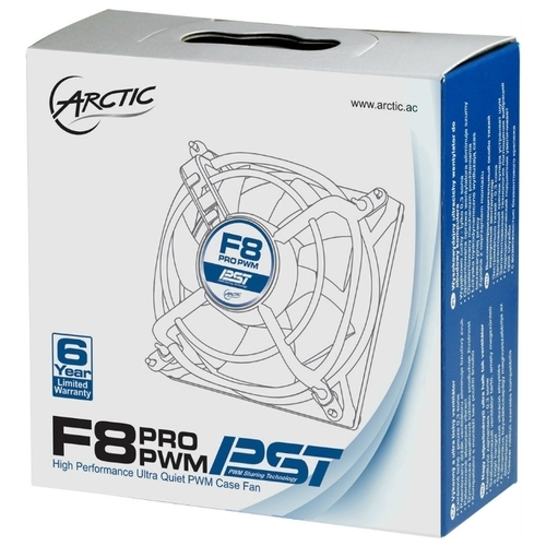 Система охлаждения для корпуса Arctic Arctic F8 PRO PWM PST