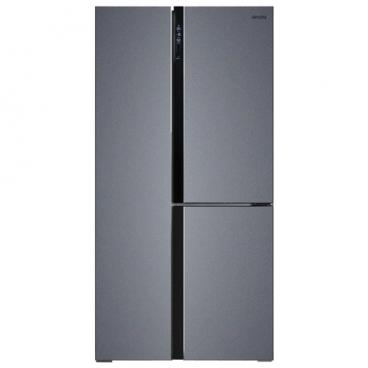 Холодильник Ginzzu NFK-610 Dark gray