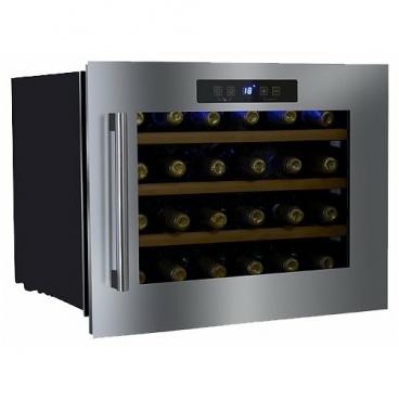 Встраиваемый винный шкаф Dunavox DX-24.56BSK
