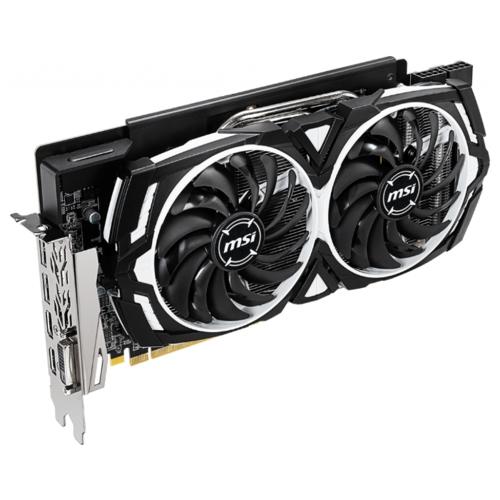 Видеокарта MSI Radeon RX 590 1565MHz PCI-E 3.0 8192MB 8000MHz 256 bit DVI 2xHDMI HDCP ARMOR OC