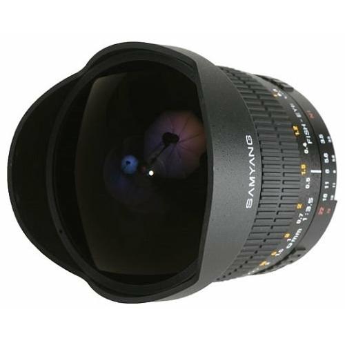 "Объектив Samyang 8mm f/3.5 AS IF MC Fish-eye CS Canon EF-S"""