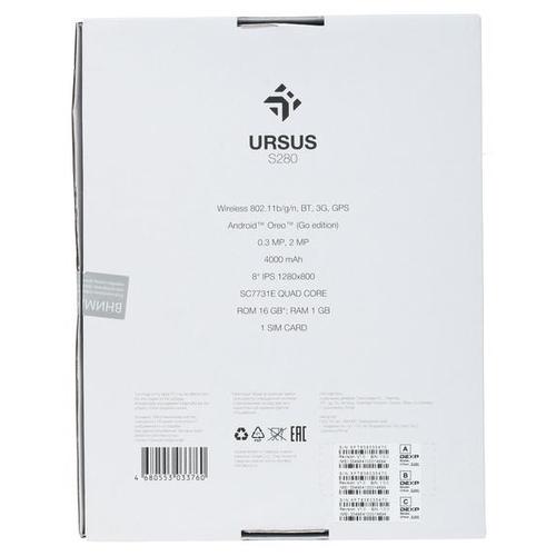 Планшет DEXP Ursus S280