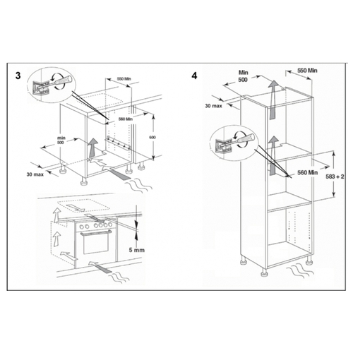 Электрический духовой шкаф KitchenAid KOASPB 60600