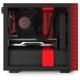 Компьютерный корпус NZXT H210 Black/red