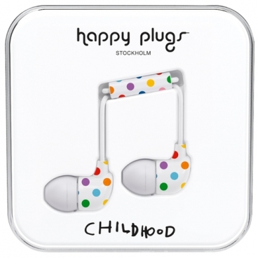 Наушники Happy Plugs In-Ear