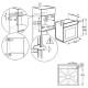 Электрический духовой шкаф Electrolux OKC8P31X