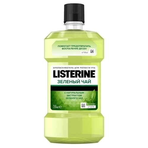 Listerine ополаскиватель Зеленый чай