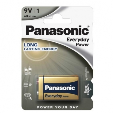 Батарейка Panasonic Everyday Power Крона/6LR61