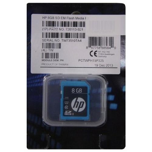 Карта памяти HP Enterprise Mainstream SDHC Class 10 UHS-I U1