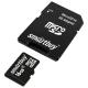 Карта памяти SmartBuy microSDHC Class 4 16GB + SD adapter