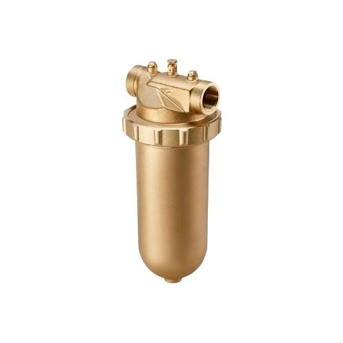 Фильтр механической очистки oventrop Aquanova Magnum PN 16 140 (чаша латунь) муфтовый (ВР/ВР), латунь