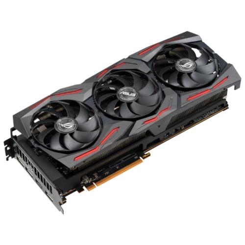 Видеокарта ASUS ROG Radeon RX 5700 1610 MHz PCI-E 4.0 8192MB 14000MHz 256 bit HDMI 3xDisplayPort HDCP STRIX GAMING OC