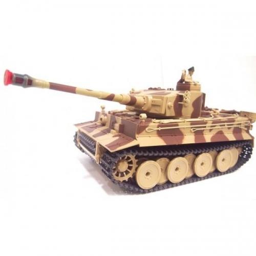 Танк Huan Qi Airsoft German Tiger 1:28