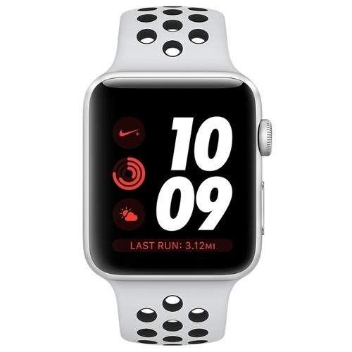 Часы Apple Watch Series 3 Cellular 42mm Aluminum Case with Nike Sport Band
