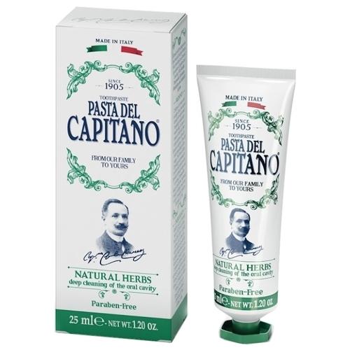 Зубная паста Pasta del Capitano 1905 Натуральные травы