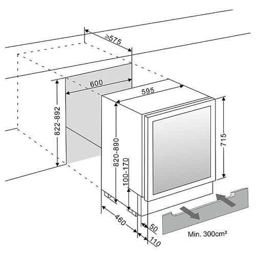 Винный шкаф DOMETIC S40FGD