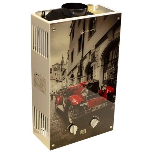 Проточный газовый водонагреватель Wert 10EG Red Glass