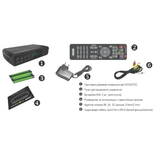 TV-тюнер Mezzo GX3235T2C