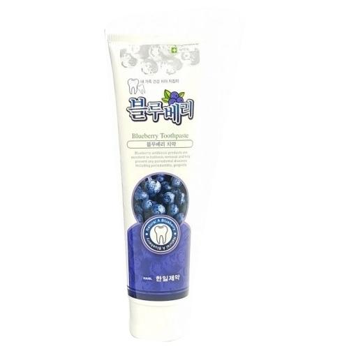 Зубная паста Hanil Natural A черника, мята