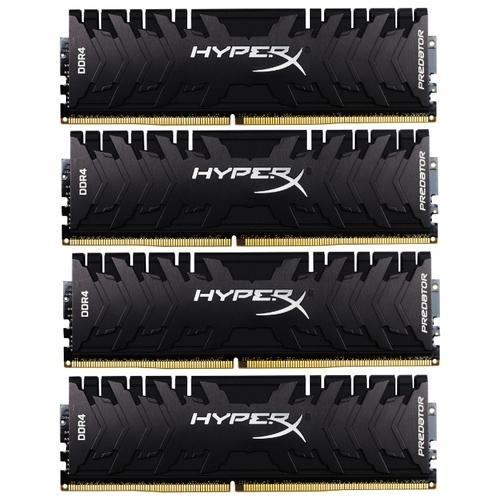 Оперативная память 8 ГБ 4 шт. HyperX HX433C16PB3K4/32