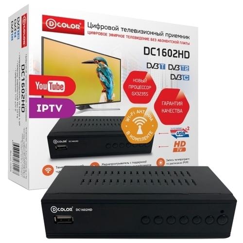 TV-тюнер D-COLOR DC1602HD