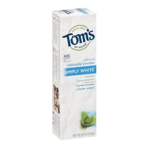 Зубная паста Tom's of Maine Simply White Чистая мята