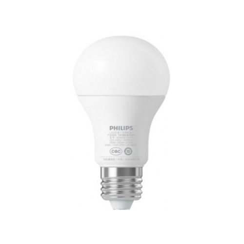 Лампа светодиодная Philips Zhirui, E27, A60, 6.5Вт