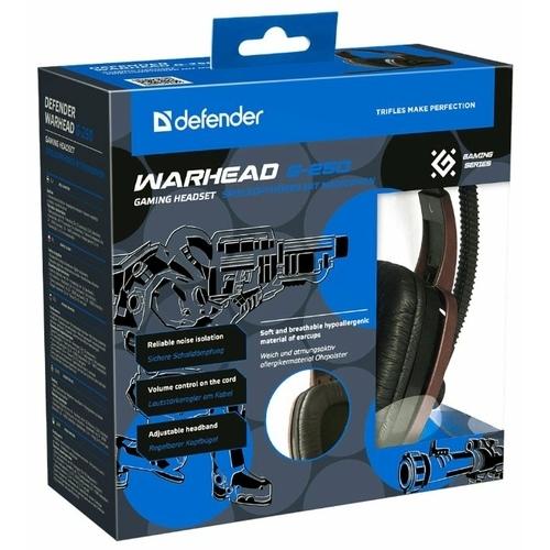 Компьютерная гарнитура Defender Warhead G-250