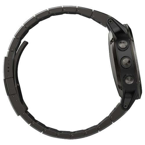 Часы Garmin Fenix 5 Sapphire с металлическим браслетом
