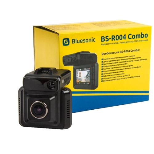 Видеорегистратор с радар-детектором Bluesonic BS-R004 Combo