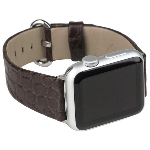 Marcel Robert Ремешок для Apple Watch 42/44mm ST Classic из натуральной кожи аллигатора