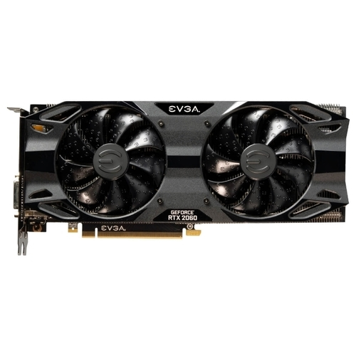 Видеокарта EVGA GeForce RTX 2060 1830MHz PCI-E 3.0 6144MB 14000MHz 192 bit DVI HDMI HDCP XC ULTRA GAMING