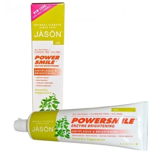 Зубная паста JASON Powersmile ферментативная Перечная мята