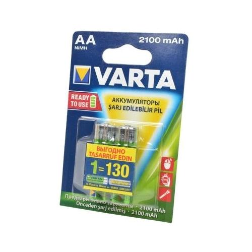 Аккумулятор Ni-Mh 2100 мА·ч VARTA Recharge Accu Power 2100 AA